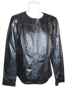 Other black Leather Jacket