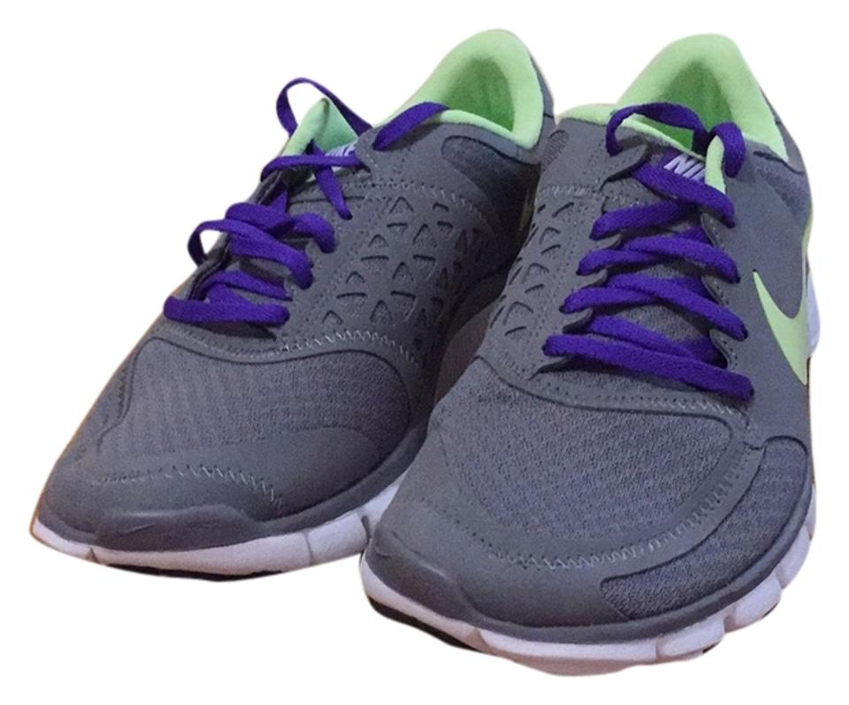 bf4ac32c5412 Nike Cool Grey with Lime and Purple Accents Free 7.0 V2 Sneakers ...