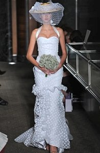 Carolina Herrera Seurat Gown Spring 2010 Wedding Dress