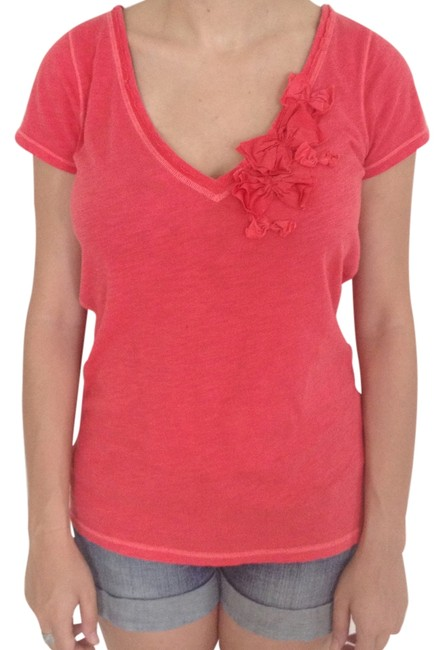 Hollister T Shirt Coral