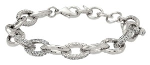Stella & Dot NEW Stella & Dot Christina Bracelet in Pave Crystal & Silver (fits S-L)