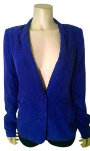 A|X Armani Exchange Silk Jacket Size 6 purple Blazer