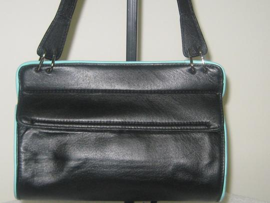 Wilsons Leather Satchel in BLACK