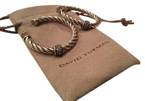 David Yurman Metro Collection Cable Classics Hoop Earrings