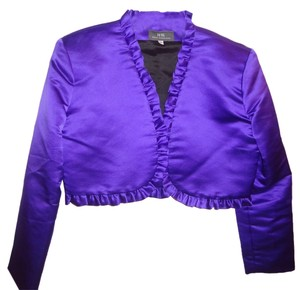 Heidi Kirland Vintage Top Purple Satin