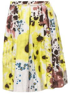 Cacharel Size 10 Skirt Multi-color