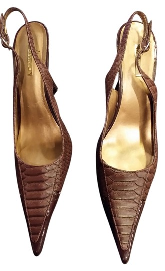 Carrini Brown Pumps