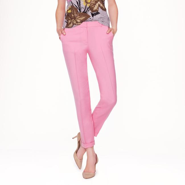J.Crew Bright Pop Of Color Colorful Wool Capri/Cropped Pants Blue