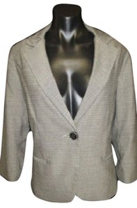CAbi Blazer Jacket Single Breasted Ivory Cream Cardigan