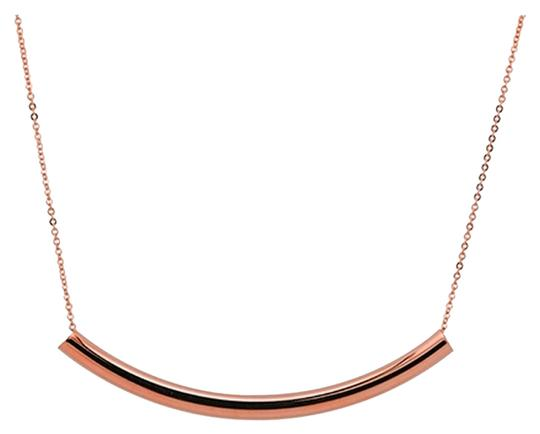 Other Sweet Curved Bar Necklace