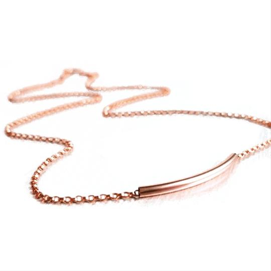 Titan Bliss Sweet Curved Bar Necklace