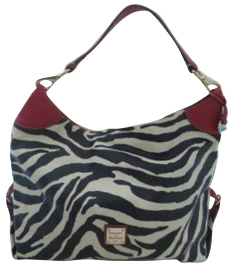 Preload https://item5.tradesy.com/images/dooney-and-bourke-hobo-bag-black-ivory-zebra-print-with-red-leather-trim-5638249-0-1.jpg?width=440&height=440