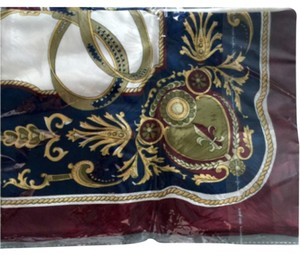 Silk scarf not open, original plastic packed