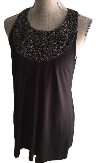 Sweaterworks Size Small Tops Size Small Embellished Tops Embellished Top Black