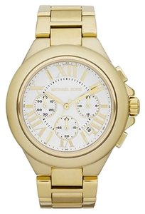 Michael Kors NWT MICHAEL KORS Camille GOLD Tone Chronograph Watch