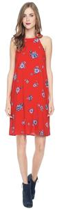 Splendid short dress Red mixed Silk Maxi on Tradesy