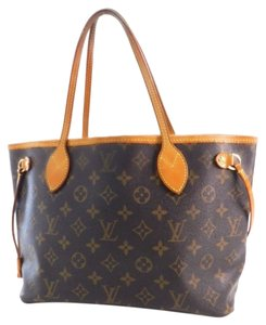 Louis Vuitton Tote in Monogram Browns