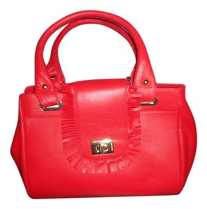 B-Low the Belt Satchel in Red