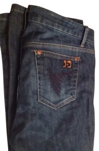 Joes jeans size 30 waist Lenght 31. Color is a nice darker blue than what the picture shows Boot Cut Jeans