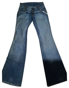 Red Zed Gold jeans Flare Leg Jeans