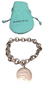 Tiffany & Co. RETURN TO TIFFANY(R) Round Tag Bracelet in sterling silver