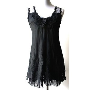 Pretty Angel short dress Black on Tradesy