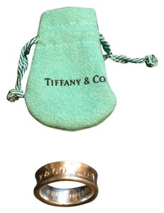 Tiffany & Co. 1837 Logo Ring 925 Sterling Silver US SIZE 7