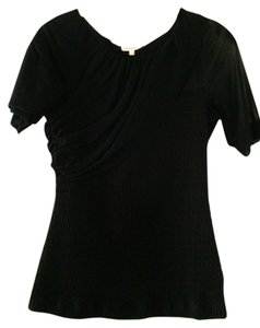 Deletta Anthropologie Date Night Holiday Special Occassion Top Black