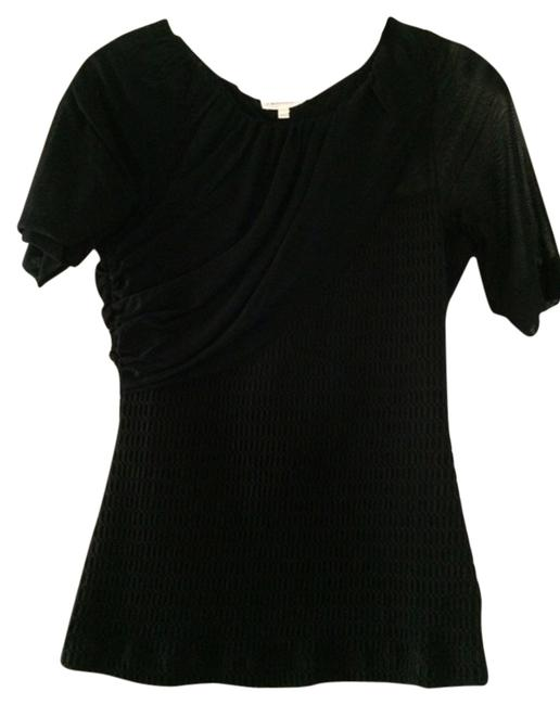 Deletta Anthropologie Holiday Special Occassion Top Black