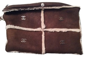 Chanel Wristlet in Brown