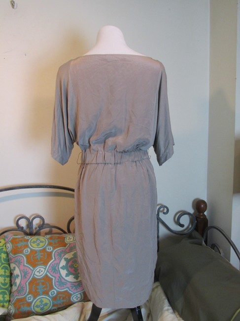 BCBGMAXAZRIA short dress Hazelnut Silk Designer on Tradesy