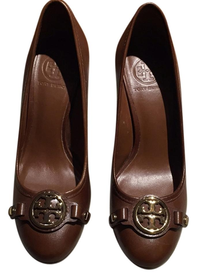 womens Tory great Burch Brown Pumps a great Tory variety 3227fc