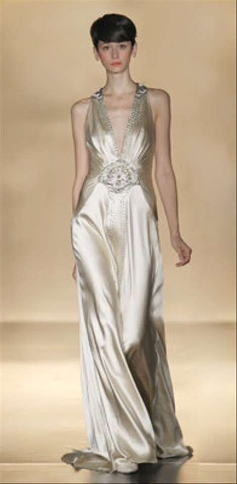 b5103a4a636f Jenny Packham Other Silk Charmeuse Carmen Vintage Wedding Dress Size ...