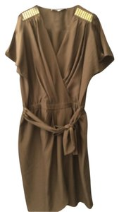 Cynthia Steffe short dress Olive Green on Tradesy