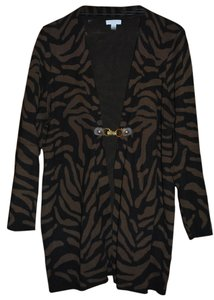 Charter Club Animal Zebra Cardigan