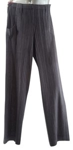 Issey Miyake Pleated Signature Straight Pants Sage Green