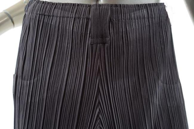Issey Miyake Pleats Please Pleated Signature Straight Pants Sage Green