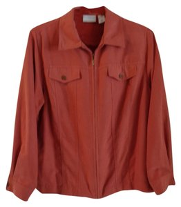 Alfred Dunner burnt orange Jacket