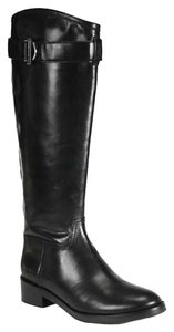 Tory Burch Grace Equestrian Riding Black Boots