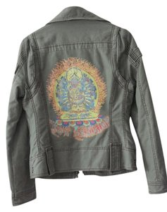 True Religion Hindu God Hindu Jean Womens Jean Jacket
