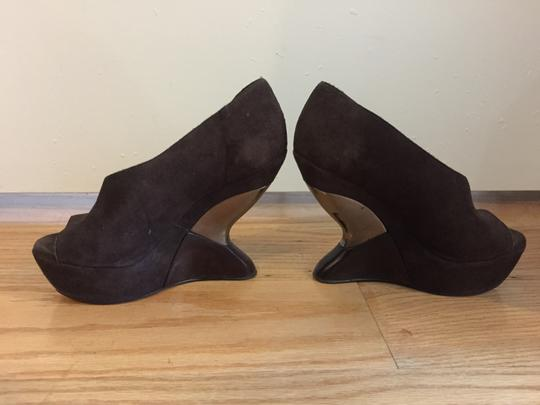 Leifsdottir Brown Wedges
