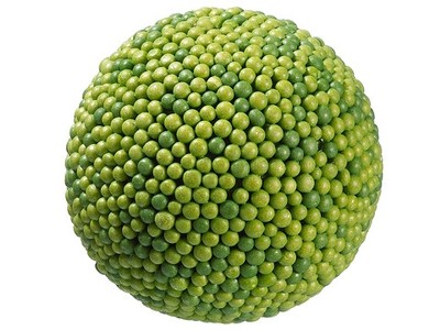 "6"" In Diameter Green Berry Pomander Kissing Ball P"
