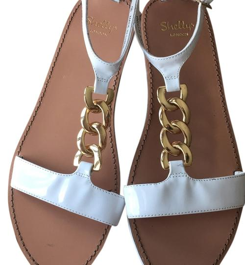 Urban Outfitters White Sandals