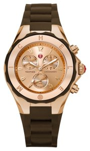 Michele Brand New Michele Jelly Bean brown/ rose gold Watch