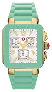Michele Brand new Michele Jelly Bean Pale Blue/ GOLD/ WHITE