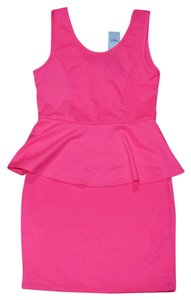 Rue 21 short dress Hot Pink on Tradesy