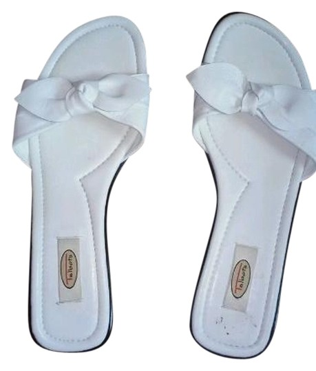 Preload https://item5.tradesy.com/images/talbots-white-slideslip-on-or-9-flats-size-us-85-narrow-aa-n-5646304-0-0.jpg?width=440&height=440
