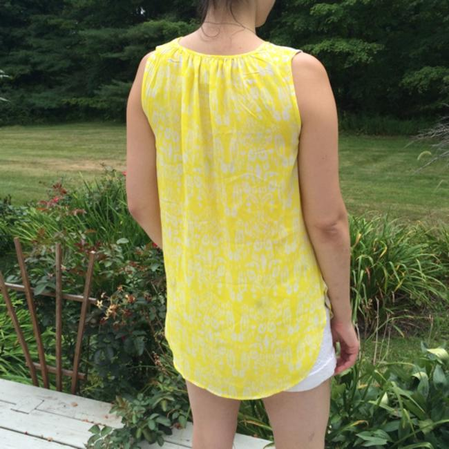 Anthropologie Top Yellow, multi