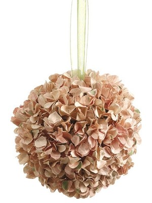 Hydrangea Kissing Ball In Champagne Perfect For Pe