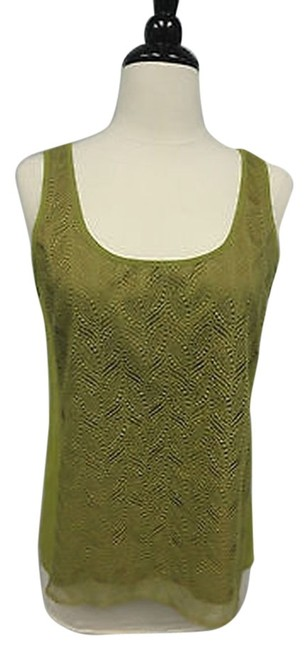 J.Crew Crew Lace Front Shirt Top Green